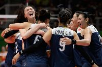 რიო 2016: ჩინეთის ნაკრები ფრენბურთის ტურნირის გამარჯვებულია