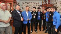 მინისტრი ახალგაზრდა ძალოსნებს შეხვდა (ვიდეო)