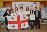 საჭადრაკო კლუბ ნონას მე-2 ადგილი ევროპის საკლუბო პირველობაზე