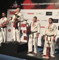 ქართველი კარატისტების 5 მედალი ევროპის ჩემპიონატიდან