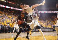 კურიოზული სიტუაცია NBA-ს სუპერფინალში (ვიდეო)