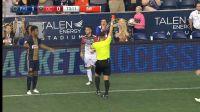 MLS-ში მსაჯმა წითელი ბარათი გააუქმა (ვიდეო)