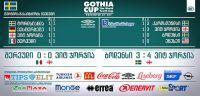 ვიტ ჯორჯიას წარმატებული სტარტი GOTHIA CUP-ზე