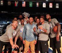 ანრის ფეხით ჩაგდებული სამქულიანი NBA-ს შოუში (ვიდეო)