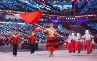 ტონგელი მედროშის დებიუტი ზამთრის ოლიმპიურ თამაშებზე