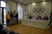 შეხვედრა ახალგაზრდული ოლიმპიური თამაშების ლიცენზიანტ კალათბურთელებთან