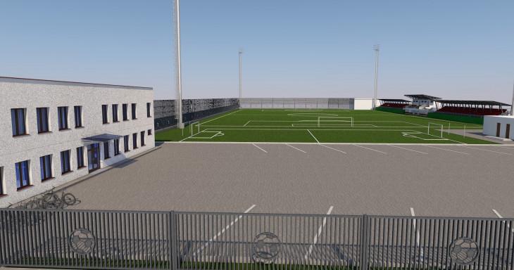 კასპში საერთაშორისო სტანდარტების სტადიონი აშენდება