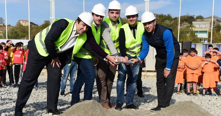 კასპში საერთაშორისო სტანდარტების სტადიონის მშენებლობა დაიწყო!