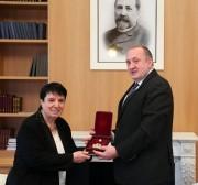 საქართველოს პრეზიდენტმა ნონა გაფრინდაშვილი ბრწყინვალების ორდენით დააჯილდოვა