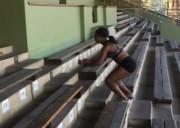 ნორვეგიელი მძლეოსნის კენგურუსაც შეშურდება (ვიდეო)