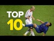 10 ყველაზე შოკისმომგვრელი მომენტი ფეხბურთის ისტორიაში (ვიდეო)