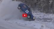 ფინური კოშმარი - საბედისწერო მოსახვევი რალის ეტაპზე (ვიდეო)