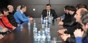 სპორტის მინისტრმა ძიუდოს ეროვნული ნაკრების წევრები და ფედერაციის ხელმძღვანელები მიიღო