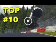 ნიურბურგრინგის 10 ყველაზე საშინელი ავარია (ვიდეო)