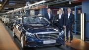 Mercedes-Benz-მა ახალი E-Class-ის გამოშვება დაიწყო (ფოტო)