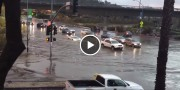 შეიძლება თუ არა ლამბორჯინით დატბორილ ქუჩებში გადაადგილება (ვიდეო)