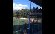 ინციდენტი და ჩაშლილი მატჩი საქართველოს მეორე ლიგაში (ვიდეო)
