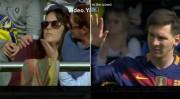 მესის დარტყმულმა ქომაგი დააზიანა (ვიდეო)