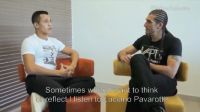 სანჩესი:''პავაროტის მუსიკა მოტივაციას მაძლევს'' (ვიდეო)